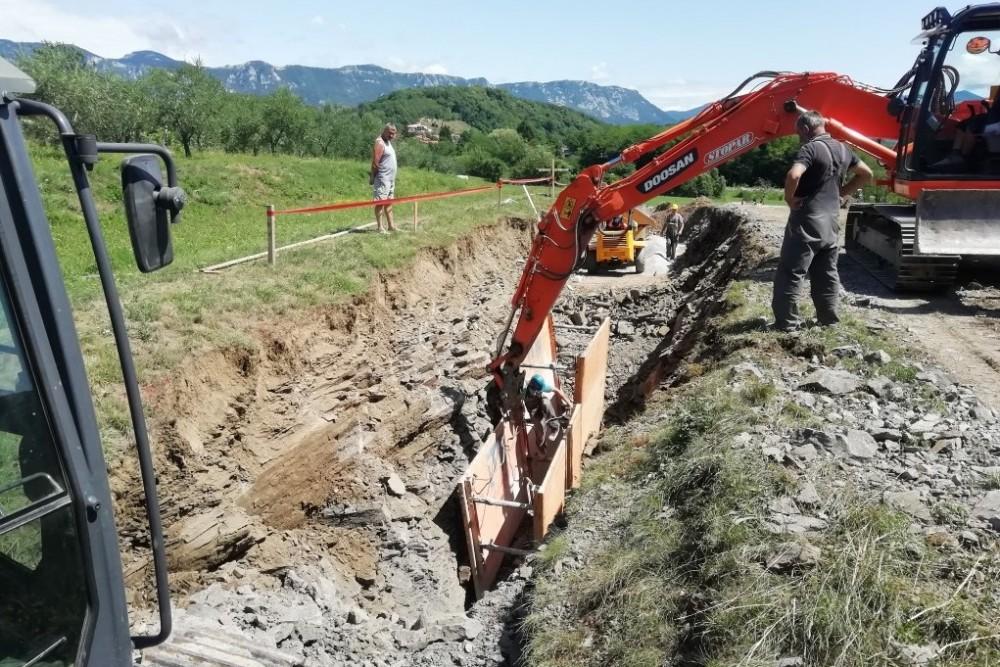Kanalizacija in vodovod Dobravlje