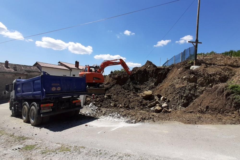 Izkop za stanovanjsko hišo